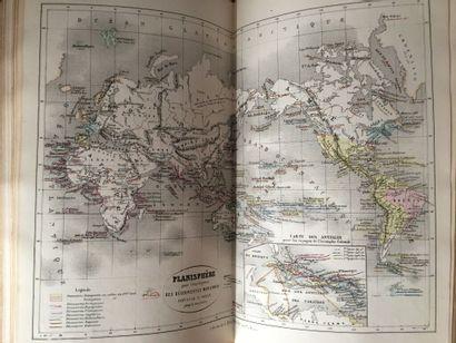 BOUILLET (M.-N.). Atlas universel d'histoire...