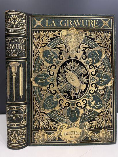 DUPLESSIS (Georges). Histoire de la gravure,...