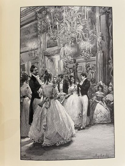 MYRBACH. ABOUT (Edmond). Tolla. Paris, Hachette,...