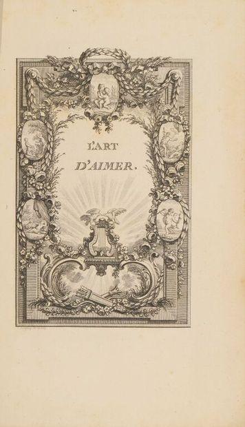 BERNARD (Pierre-Joseph). L'art d'aimer et poésies diverses. S.l., s.n., s.d. [Paris,...