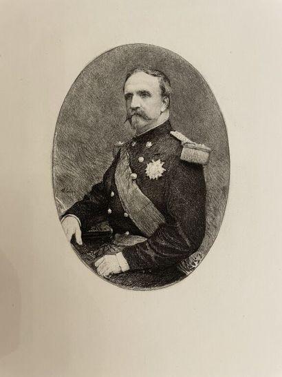 [Militaria]. LALAUZE. AUMALE (Henri d'Orléans,...