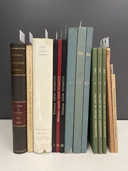[LIVRES et bibliothèques : catalogues de...