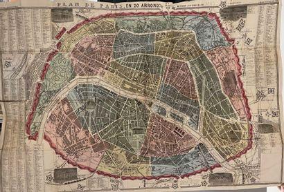 [Paris]. PLAN géométral de Paris à l'échelle...