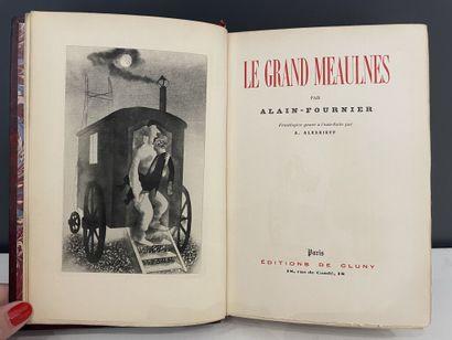 ALEXEIEFF. ALAIN-FOURNIER. Le grand Meaulnes....