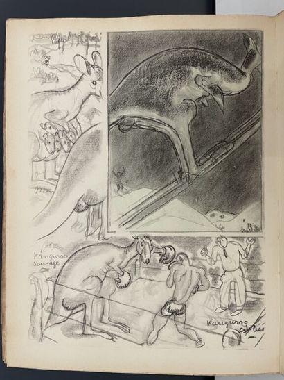 BOFA (Gus). Zoo. Paris, Mornay, 1935. In-4,...