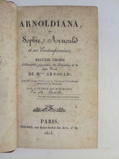 [Ana]. [DEVILLE (Pierre-François-Albéric)]....