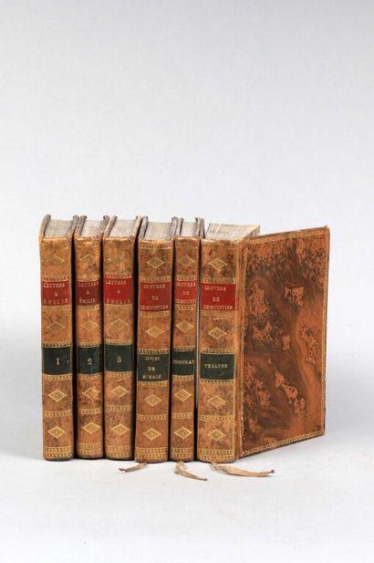 DEMOUSTIER (Charles Albert). OEuvres : Lettres à Emilie sur la mythologie (3 vol.)...