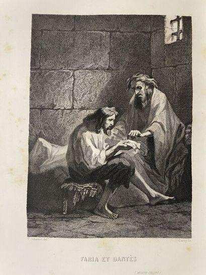 DUMAS (Alexandre). Le comte de Monte-Cristo....