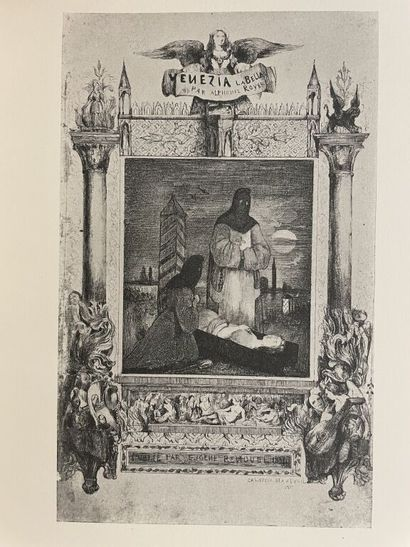 NANTEUIL. MARIE (Aristide). Un imagier romantique...