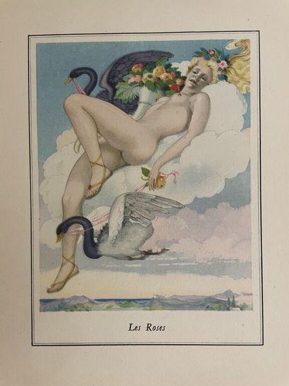 BRUNELLESCHI. DORAT (Claude). Les baisers....