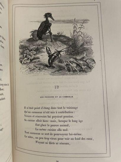 GRANDVILLE. LA FONTAINE (Jean de). Fables....