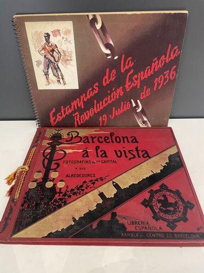 [Espagne].  - [Photographie]. Barcelona à...