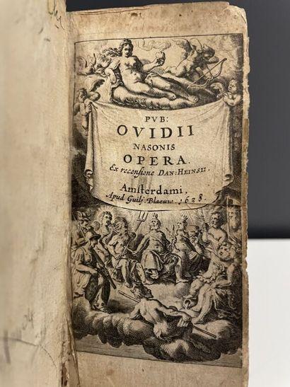 OVIDE. Publii Ovidii Nasonis Opera, ex recensione...