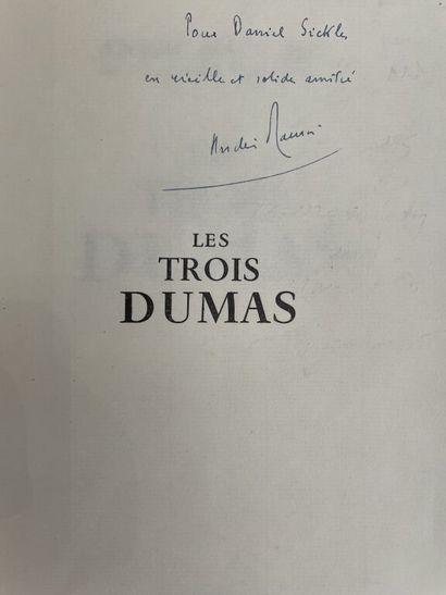 MAUROIS (André). Les trois Dumas. Paris,...
