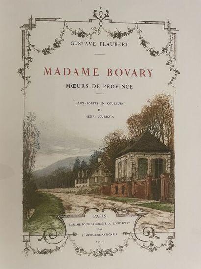 JOURDAIN. FLAUBERT (Gustave). Madame Bovary....