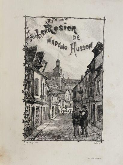 HABERT-DYS. MAUPASSANT (Guy de). Le rosier...