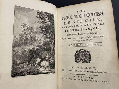 VIRGILE. Les Géorgiques. Paris, Bleuet, 1770....