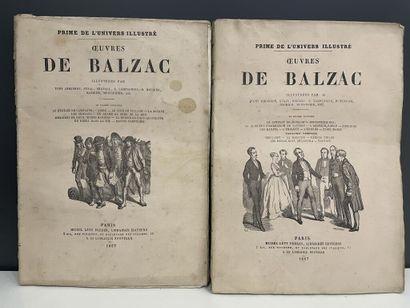 BALZAC (Honoré de). OEuvres illustrées (8...