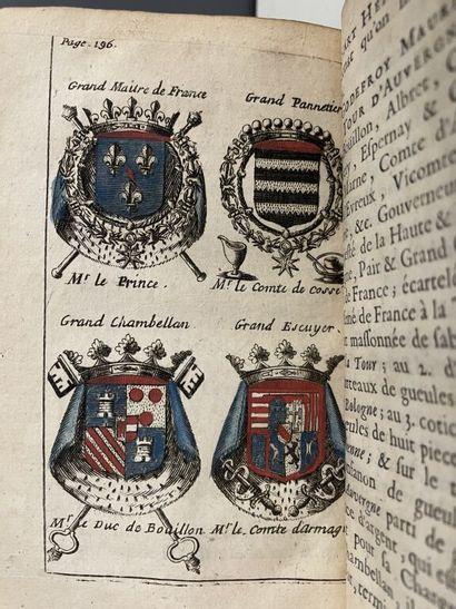 BARON (Jules). L'art héraldique, contenant...
