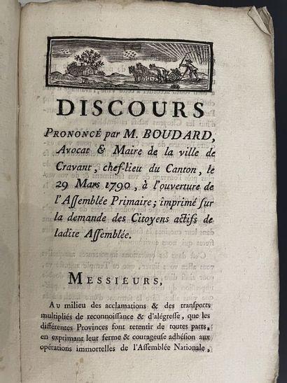 [Révolution française]. PEUPLE (Le) de Paris...