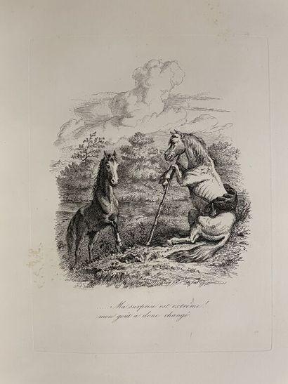 GRANDVILLE. LAVALETTE (Ch.-G. Sourdille de)....