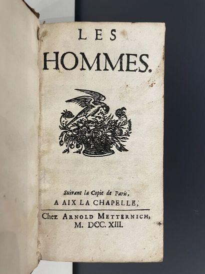 [VARENNES (Jacques-Philippe de)]. Les hommes....