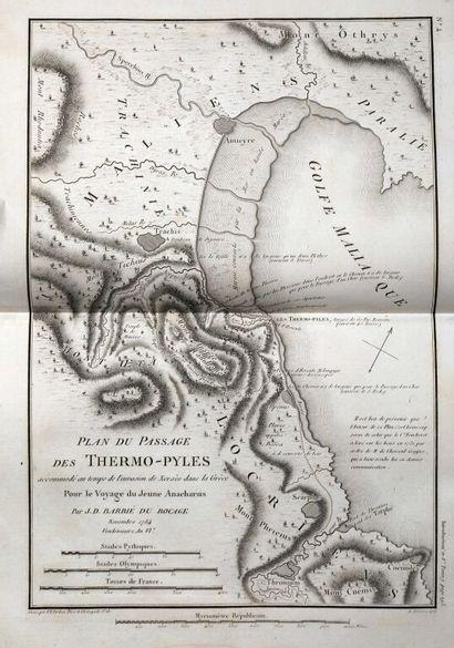 BARTHELEMY (Jean-Jacques, abbé). Voyage du jeune Anacharsis en Grèce, vers le milieu...
