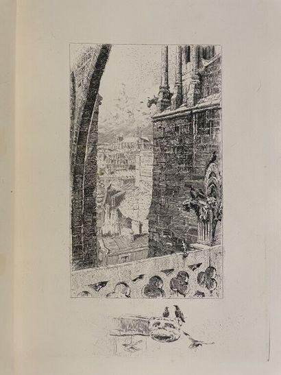 JOUAS. HUYSMANS (Joris-Karl). Trois Églises....