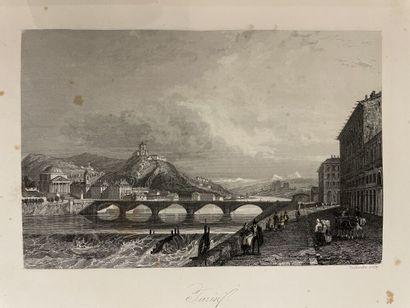 JANIN (Jules). Voyage en Italie. Paris, Bourdin,...
