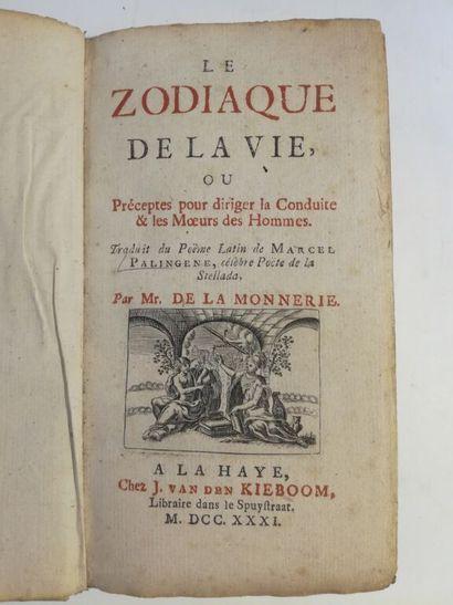 [MANZOLLI (Pier Angelo)]. Le Zodiaque de...