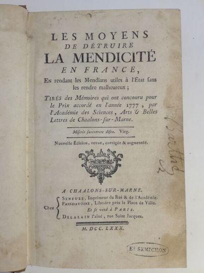 [MALVAUX (Pierre-Claude)]. Les moyens de...