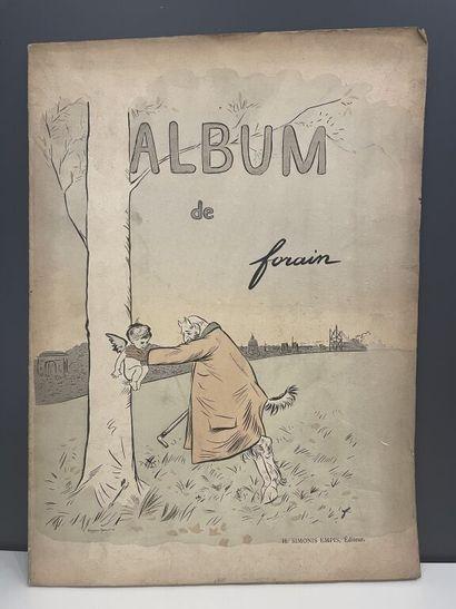 FORAIN (Jean-Louis). Ensemble d'une monographie...