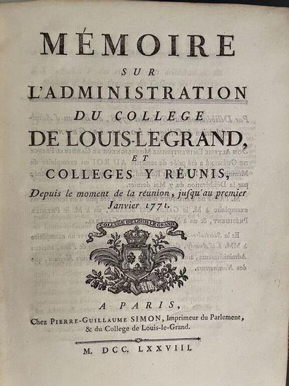 [Paris]. [ROLLAND D'ERCEVILLE (Barthélemy-Gabriel)]....