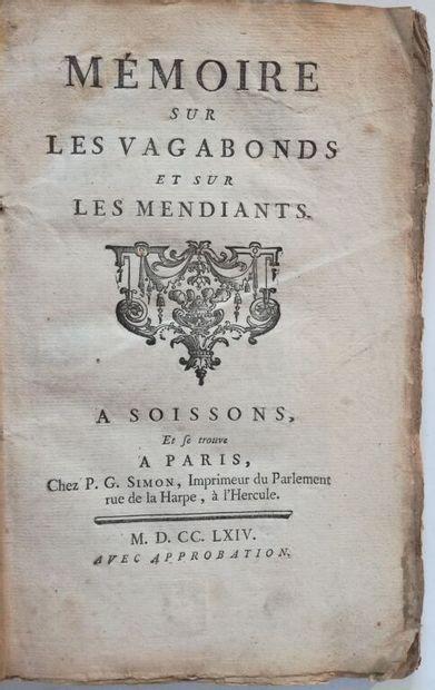 [LE TROSNE (Guillaume-François)]. Mémoire...