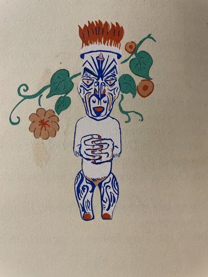 [Tahiti]. BRUNELLESCHI. DORSENNE (Jean)....