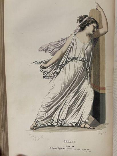 [Illustrés du XIXe siècle]. Ensemble de 7...