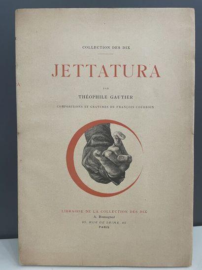 COURBOIN. GAUTIER (Théophile). Jettatura....