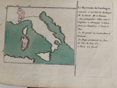 [Atlas]. La bonne méthode d'enseigner la géographie. A Paris, chez Jombert père...