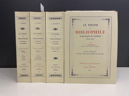 CARTERET (L.). Le trésor du bibliophile romantique...