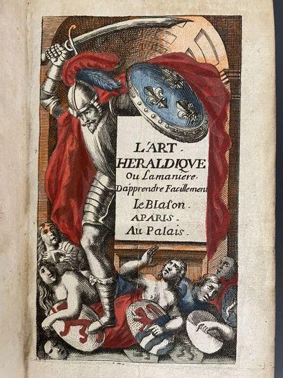 BARON (Jules). L'art héraldique, contenant la manière d'apprendre facilement le...