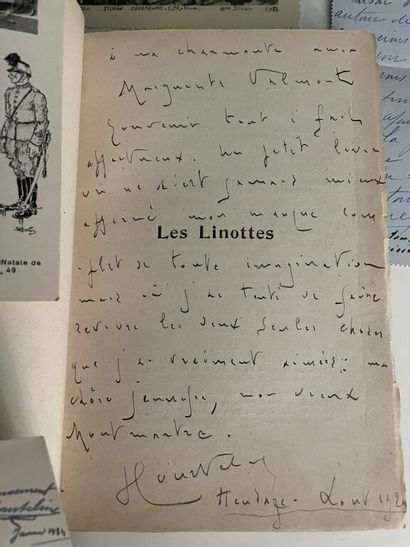 COURTELINE (Georges). Lettre autographe signée...