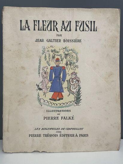 FALKÉ. GALTIER-BOISSIÈRE (Jean). La fleur...