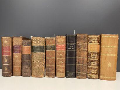 [Almanach impérial. Almanach royal. Almanach...