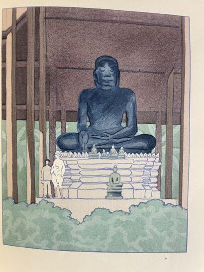 MARLIAVE. LOTI (Pierre). Un pèlerin d'Angkor....