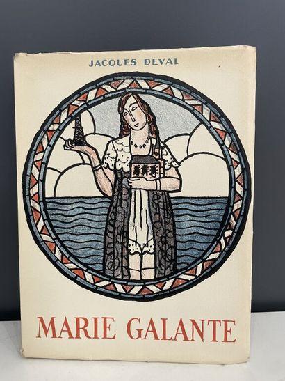 EDELMANN. DEVAL (Jacques). Marie Galante....