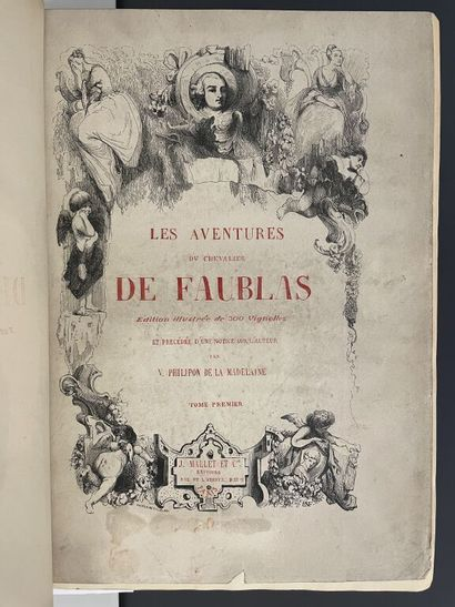 LOUVET DE COUVRAY (Jean-Baptiste). Les aventures...