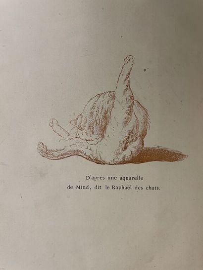 CHAMPFLEURY. Les chats. Histoire, moeurs,...