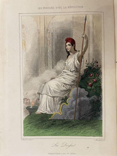 CHALLAMEL (Augustin), TÉNINT (Wilhelm). Les...