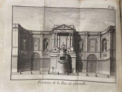 [Paris]. [DEZALLIER D'ARGENVILLE (Antoine-Nicolas)]....