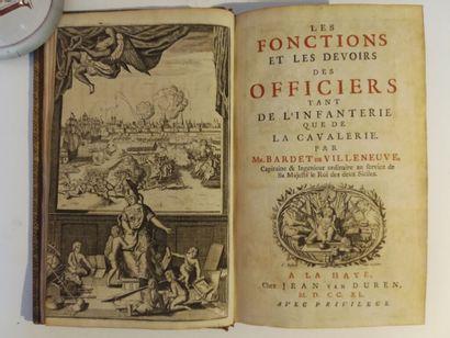 BARDET DE VILLENEUVE (P. P. A.). Les fonctions...
